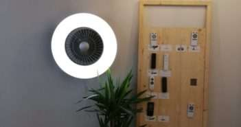 sulion, ventilador de pared, ventilador, hogar, iluminación, LED, smart home