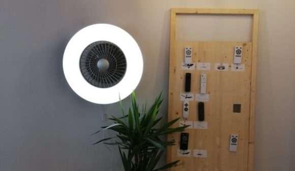 sulion, ventilador de pared, ventilador, hogar, iluminación, LED, smart home