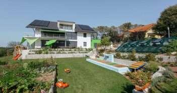 Loxone, hogar, jardin, iluminación