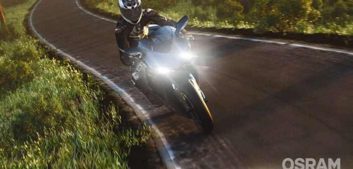 Con lámparas para motocicletas de OSRAM, la seguridad es lo primero