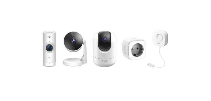 D-Link, seguridad, cámaras, smart home, vivienda inteligente