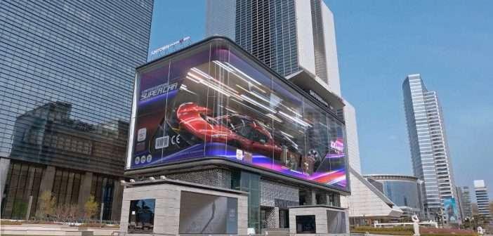 Samsung se asocia con el estudio de diseño d'strict para crear contenido revolucionario en pantallas SMART signage