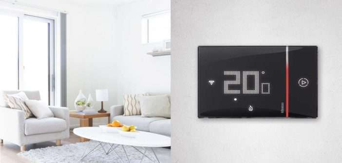 termostato, Btcino, Netatmo, Legrand