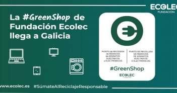 #GreenShop, Fundación Ecolec, reciclaje, economía circular