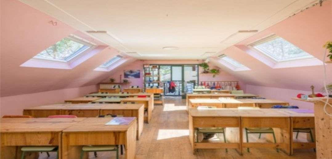 Velux, ventilación natural, rendimiento escolar, colegios