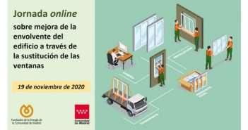 envolvente, jornada online, ventanas, fenercom, comunidad de madrid, jornada online
