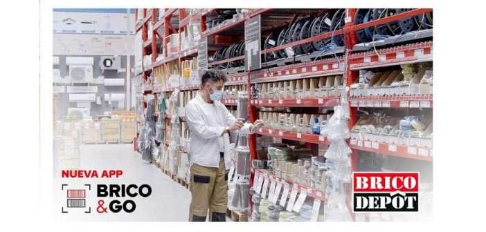 Brico Depôt lanza Brico & Go, la primera app en España que agiliza el proceso de compra en tiendas de bricolaje
