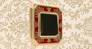 barroco, FEDE, interruptores, iluminación