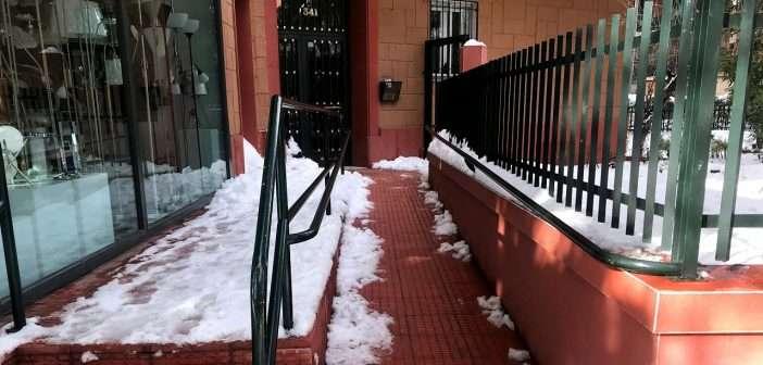 heladas, edificios, viviendas
