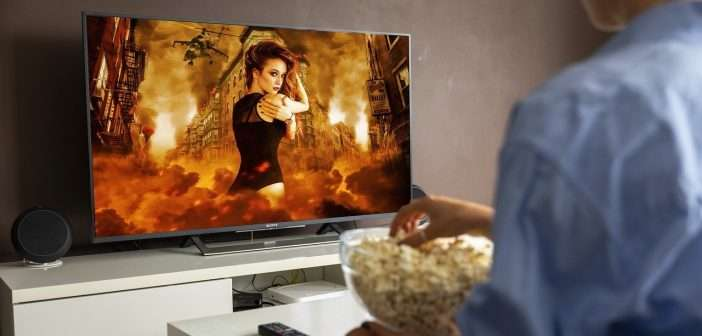 televisión, publicidad