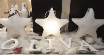Oliva iluminación, estrella solidaria, cáncer infantial