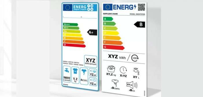 etiqueta energética, eficiencia energética, electrodomésticos,