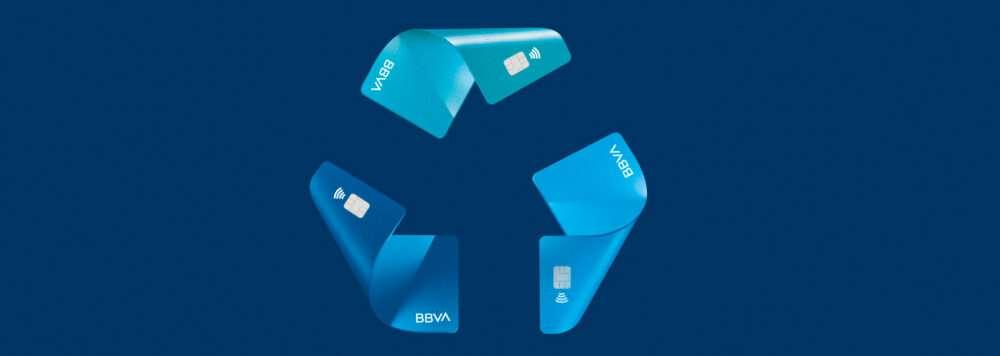 BBVA, reciclaje, Recyclia, tarjetas, reciclar, plastico