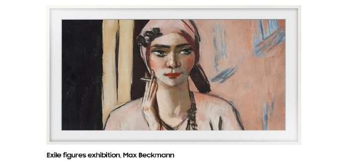 Samsung The Frame incorpora a su tienda de arte obras del siglo XX del Museo Thyssen