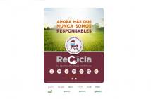 Recyclia, recicla, RAEEs, economía circular